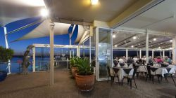 The Deck Cafe and Waterfront Bar for a superb casual dining experience