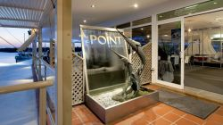 Entrance to The Point Restaurant